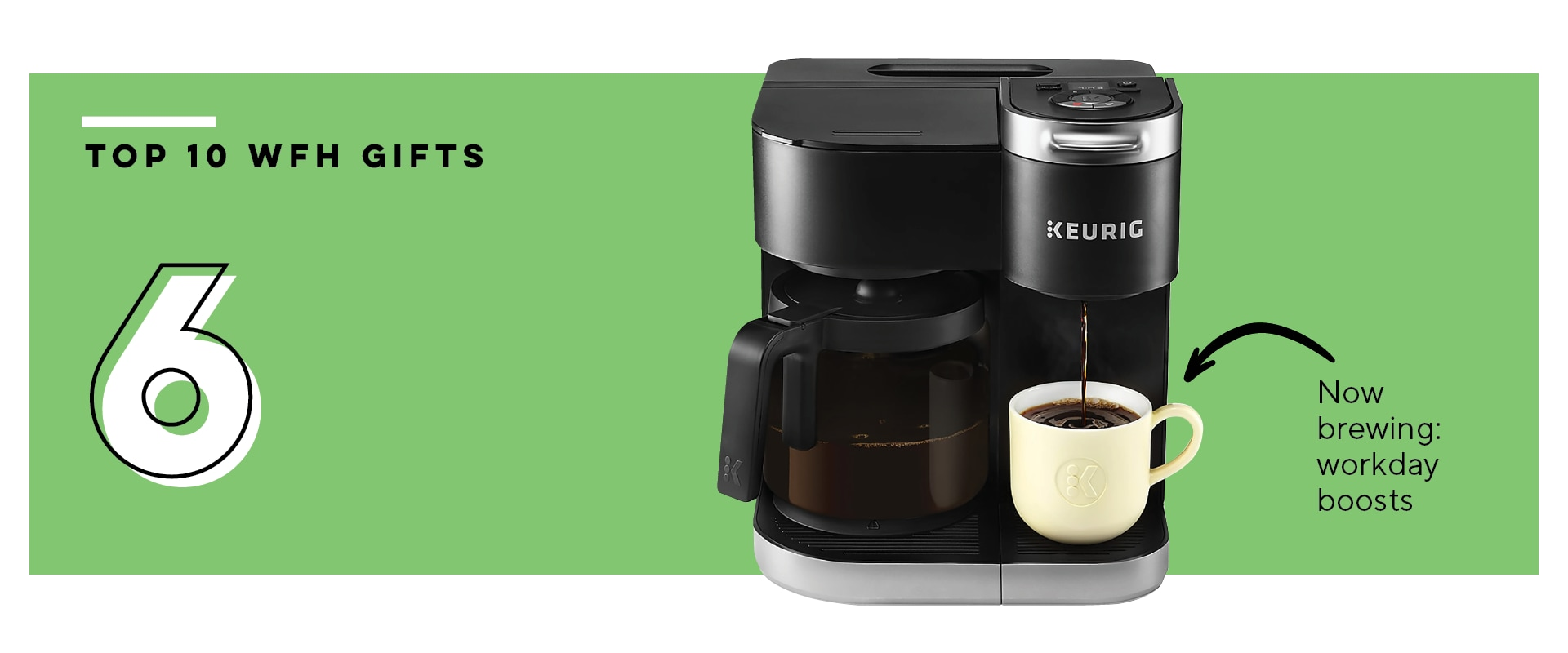 Work from Home 6: Keurig K-Duo Coffee Maker